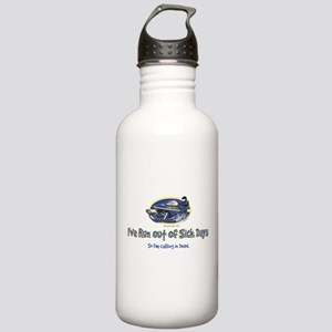RUN-OUT-OF-SICK-DAYS-[Conve Water Bottle